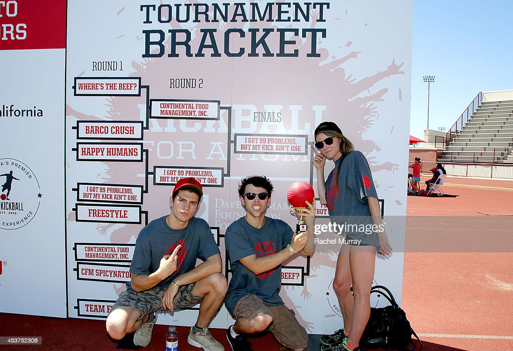 Recording artist Max Schneider during Kickball For A Home Celebrity Challenge presented by Dave Thomas Foundation For Adoption at USC on August 16...