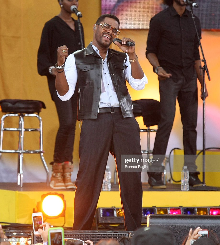 Recording artist Maxwell performs on ABC's 'Good Morning America' at Rumsey Playfield on August 30, 2013 in New York City.