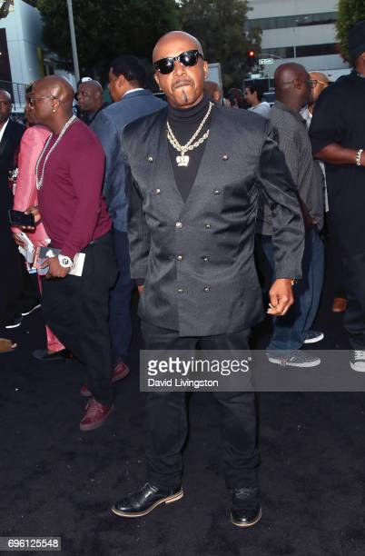 Recording artist MC Hammer attends the premiere of Lionsgate's 'All Eyez On Me' on June 14 2017 in Los Angeles California