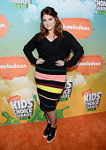Recording artist Meghan Trainor attends Nickelodeon's 2016 Kids' Choice Awards at The Forum on March 12 2016 in Inglewood California