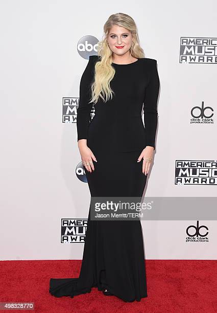 Recording artist Meghan Trainor attends the 2015 American Music Awards at Microsoft Theater on November 22 2015 in Los Angeles California