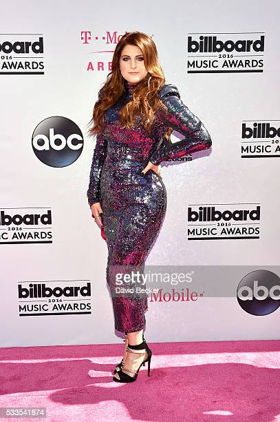 Recording artist Meghan Trainor attends the 2016 Billboard Music Awards at TMobile Arena on May 22 2016 in Las Vegas Nevada