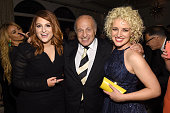 Recording artist Meghan Trainor chairman and CEO of Sony Music Entertainment Doug Morris and recording artist Cam attend Sony Music Entertainment...