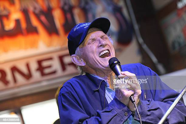 Recording Artist Mel TIllis performs at 'The Legend's at Legends' during CRS 2015 on February 25 2015 at the in Nashville Tennessee