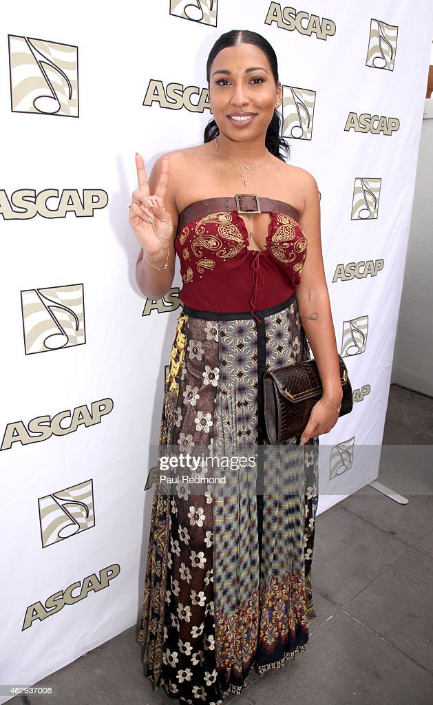 Recording artist Melanie Fiona attends The ASCAP 2015 GRAMMY Nominees Brunch at SLS Hotel on February 7 2015 in Los Angeles California