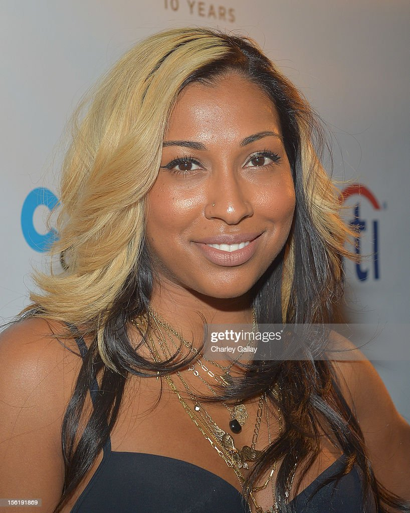 Recording artist Melanie Fiona attends The Grove's 10th Annual Star Studded Holiday Tree Lighting Spectacular Presented By Citi at The Grove on November 11, 2012 in Los Angeles, California.
