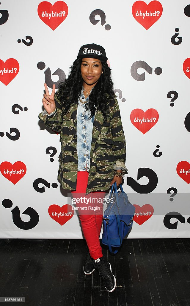 Recording artist Melanie Fiona attends the Hybird opening night party presented by Questlove and Stephen Starr inside Chelsea Market on May 14 2013...