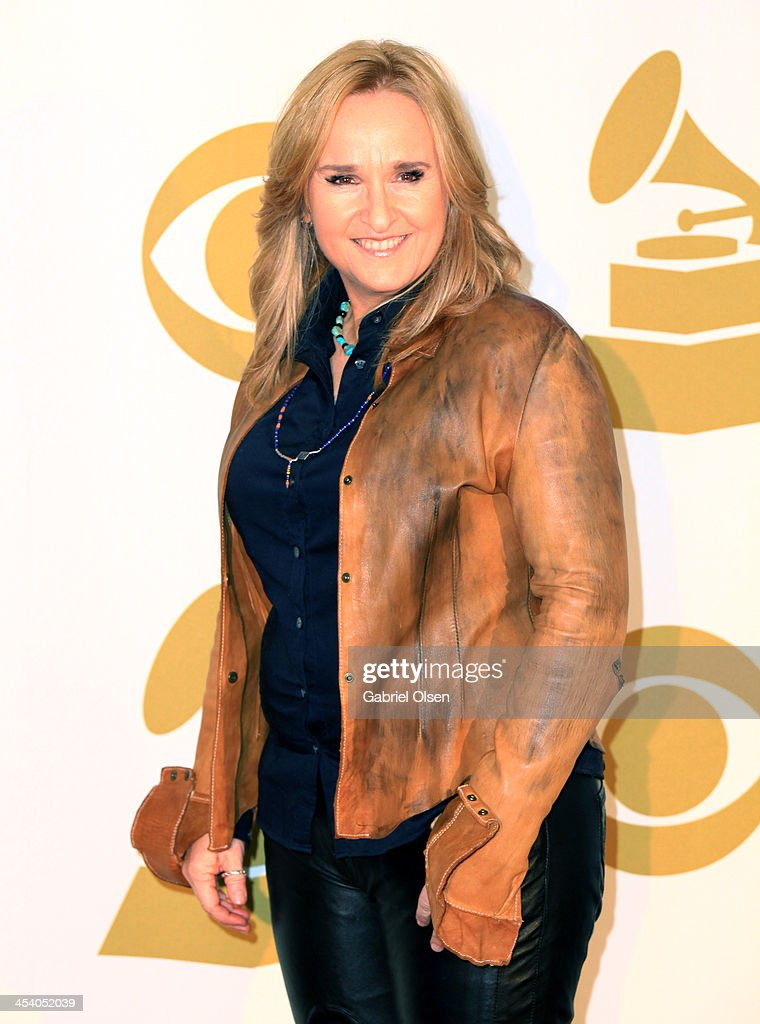 Recording artist Melissa Etheridge poses in the press room during The GRAMMY Nominations Concert Live Countdown To Music's Biggest Night at Nokia...