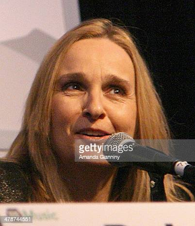 Recording artist Melissa Etheridge speaks onstage at 'The Shifting BrandScape Discussion with Melissa Etheridge' during the 2014 SXSW Music Film...