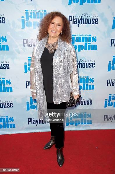 Recording Artist Melissa Manchester attends 'A Night With Janis Joplin' Los Angeles Opening Night Performance at Pasadena Playhouse on July 22 2015...