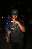 Recording artist Memphis Bleek attends Highline Ballroom on August 11 in New York City