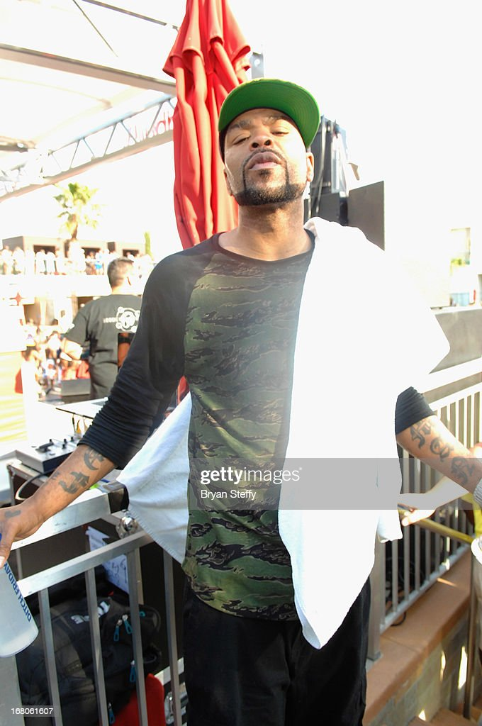 Recording artist <a gi-track='captionPersonalityLinkClicked' href=/galleries/search?phrase=Method+Man&family=editorial&specificpeople=213181 ng-click='$event.stopPropagation()'>Method Man</a> appears during Ditch Weekend at the Palms Pool & Bungalows at the Palms Casino Resort on May 4, 2013 in Las Vegas, Nevada.