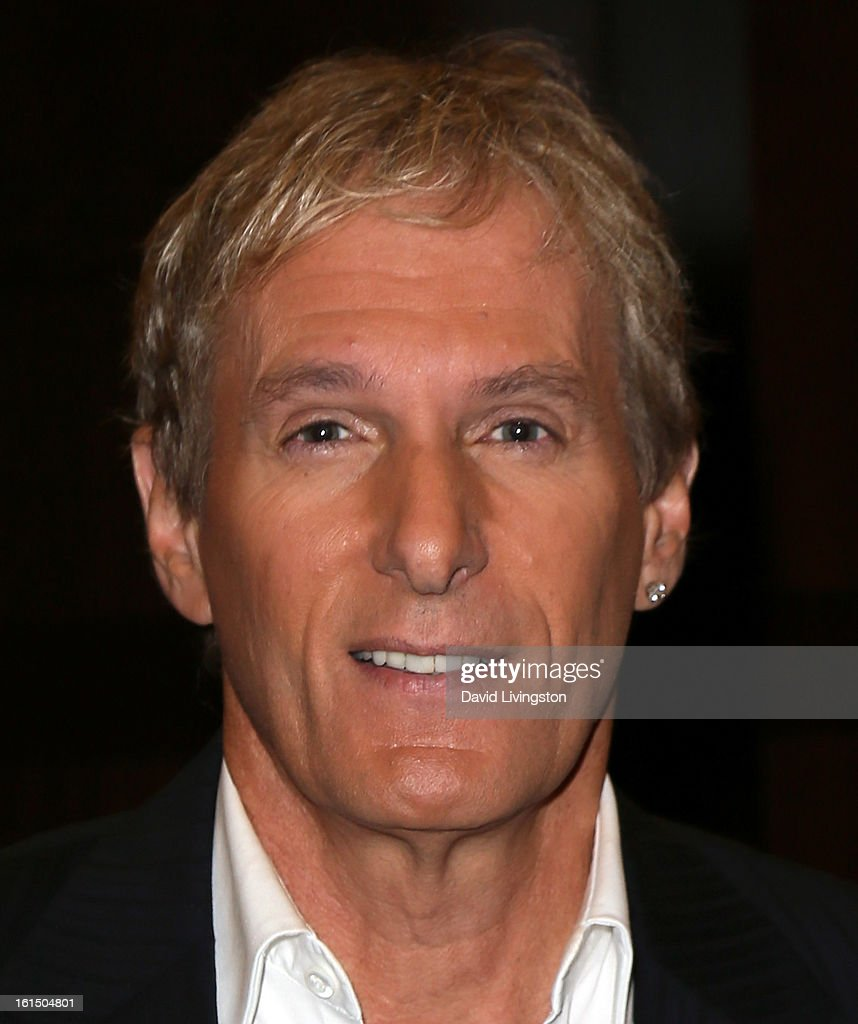 Recording artist <a gi-track='captionPersonalityLinkClicked' href=/galleries/search?phrase=Michael+Bolton&family=editorial&specificpeople=208230 ng-click='$event.stopPropagation()'>Michael Bolton</a> attends a signing for his book 'The Soul of It All: My Music, My Life' at Barnes & Noble bookstore at The Grove on February 11, 2013 in Los Angeles, California.