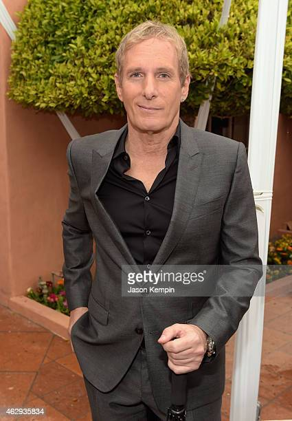 Recording artist Michael Bolton attends Roc Nation and Three Six Zero PreGRAMMY Brunch 2015 at Private Residence on February 7 2015 in Beverly Hills...