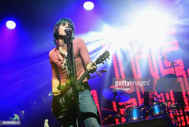 Recording artist Michael D'Addario of The Lemon Twigs performs onstage at That Tent during Day 1 of the 2017 Bonnaroo Arts And Music Festival on June...