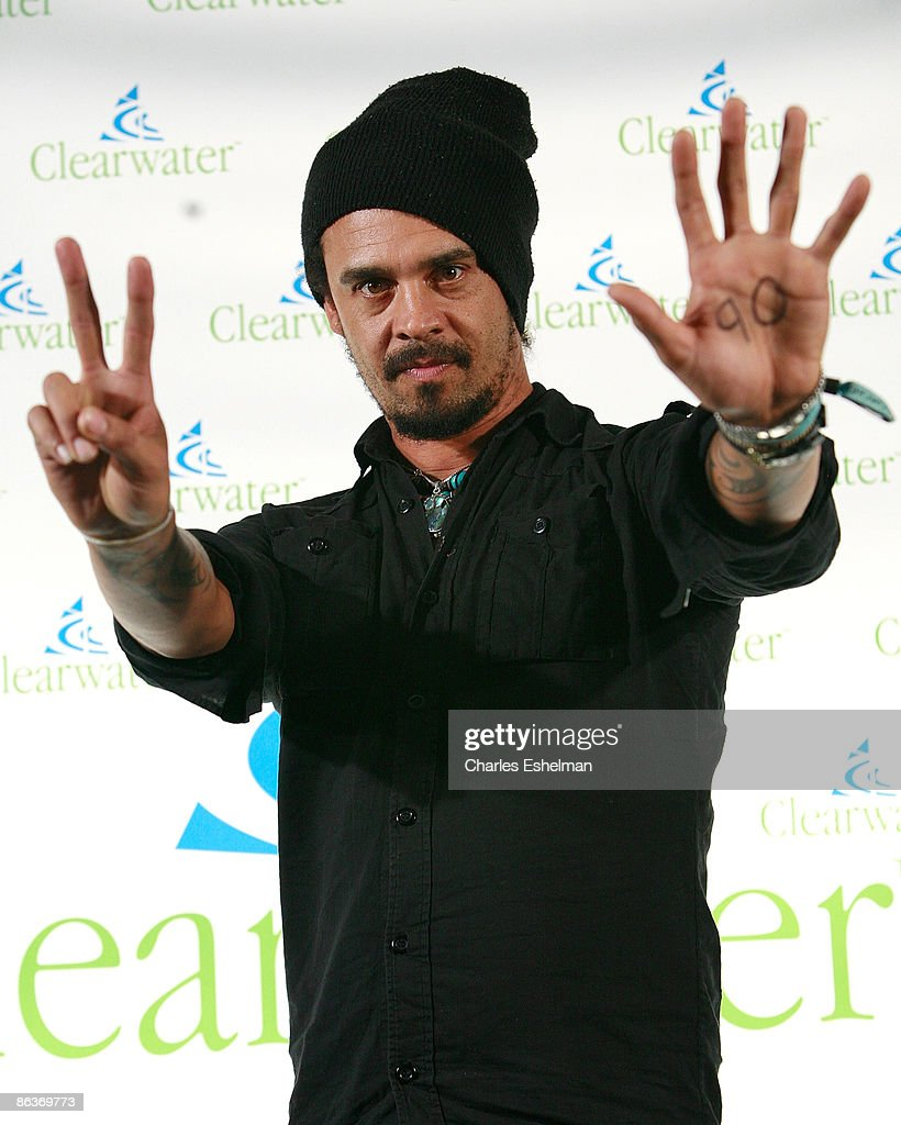 Recording artist Michael Franti attends the Clearwater Benefit Concert Celebrating Pete Seeger's 90th Birthday at Madison Square Garden on May 3, 2009 in New York City.