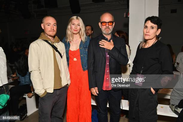 Recording artist Michael Stipe and guests attend the Creatures of the Wind fashion show during New York Fashion Week The Shows at Gallery 2 Skylight...