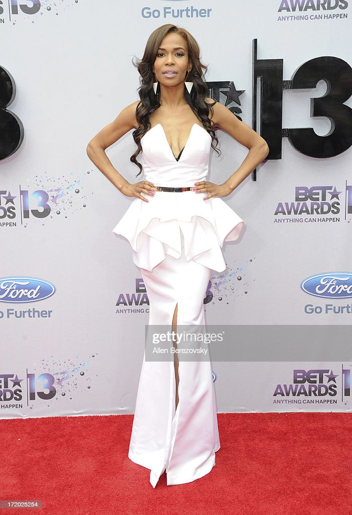 Recording artist Michelle Williams attends 2013 BET Awards - Arrivals at Nokia Plaza L.A. LIVE on June 30, 2013 in Los Angeles, California.