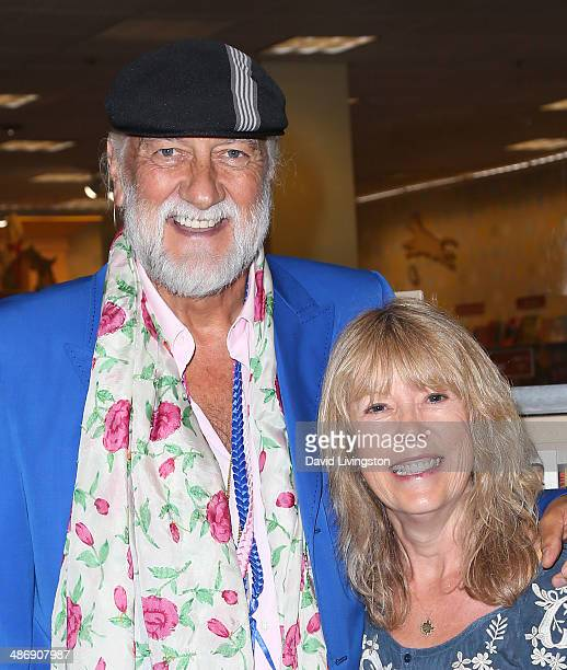 Recording artist Mick Fleetwood and writer Jenny Boyd attend a signing of Jenny Boyd's book 'It's Not Only Rock 'N' Roll' at Barnes Noble bookstore...