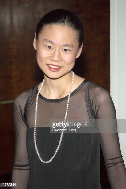 Recording artist Midori arrives at the New Yorker for New York Awards February 10 at the Waldorf Astoria in New York City
