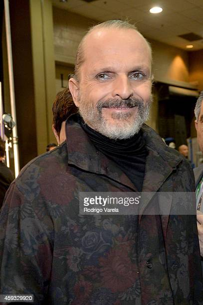 Recording artist Miguel Bose attends the 15th annual Latin GRAMMY Awards at the MGM Grand Garden Arena on November 20 2014 in Las Vegas Nevada