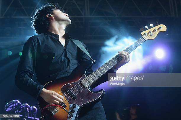 Recording artist Miguel Briseno of Lord Huron performs onstage at This Tent during Day 4 of the 2016 Bonnaroo Arts And Music Festival on June 12 2016...