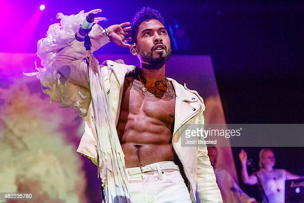 Recording Artist Miguel performs onstage at the Joy Theater on July 28 2015 in New Orleans Louisiana