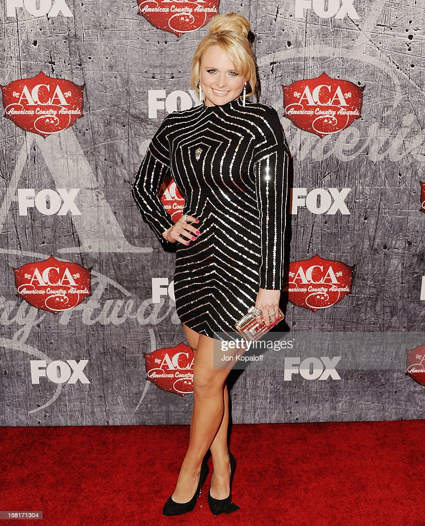 Recording artist Miranda Lambert arrives at the 2012 American Country Awards at the Mandalay Bay on December 10, 2012 in Las Vegas, Nevada.