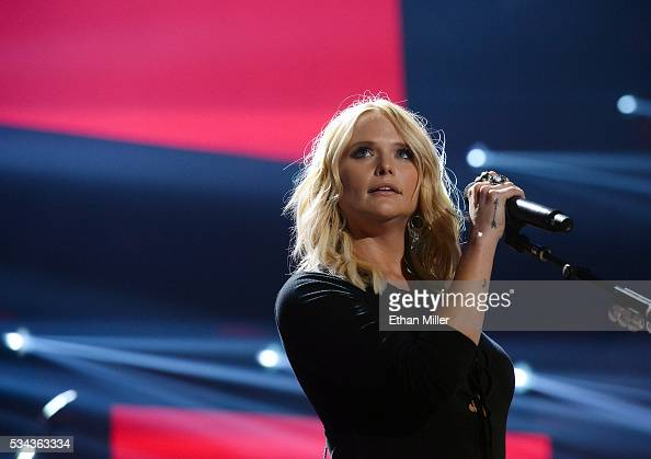 Recording artist Miranda Lambert performs during the 2016 iHeartCountry Festival at The Frank Erwin Center on April 30 2016 in Austin Texas