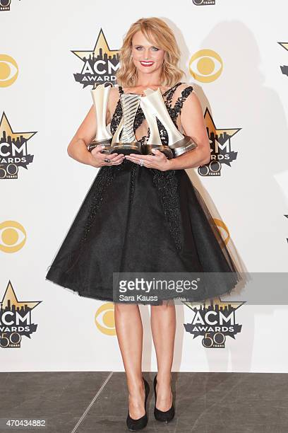 Recording artist Miranda Lambert sets a Guinness World Record for most consecutive ACM Female Vocalist wins wins ACM Album of the Year for 'Platinum'...