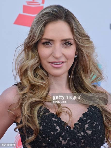 Recording artist Mirella Cesa attends the 17th Annual Latin Grammy Awards at TMobile Arena on November 17 2016 in Las Vegas Nevada