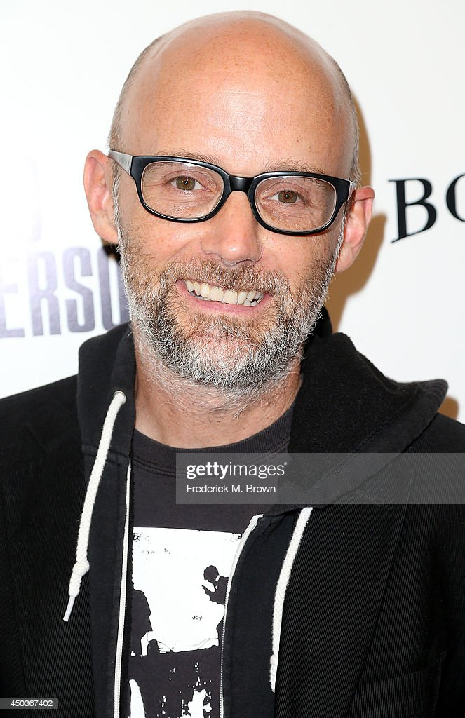 Recording artist <a gi-track='captionPersonalityLinkClicked' href=/galleries/search?phrase=Moby&family=editorial&specificpeople=203129 ng-click='$event.stopPropagation()'>Moby</a> attends the premiere of Sony Picture Classics' 'Third Person' at the Linwood Dunn Theater Pickford Center for Motion Study on June 9, 2014 in Hollywood, California.