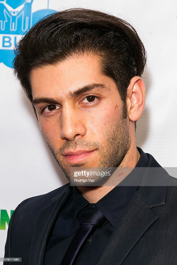 Recording artist Mohammad Molaei attends The Dream Builders Project 'A Brighter Future For Children' at H.O.M.E. on March 15, 2014 in Beverly Hills, California.