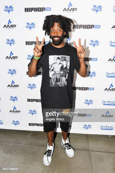 Recording artist Murs attends Next Level Presented By AMP Energy A Hip Hop Gaming Tournament at Rostrum Records on June 23 2016 in Los Angeles...