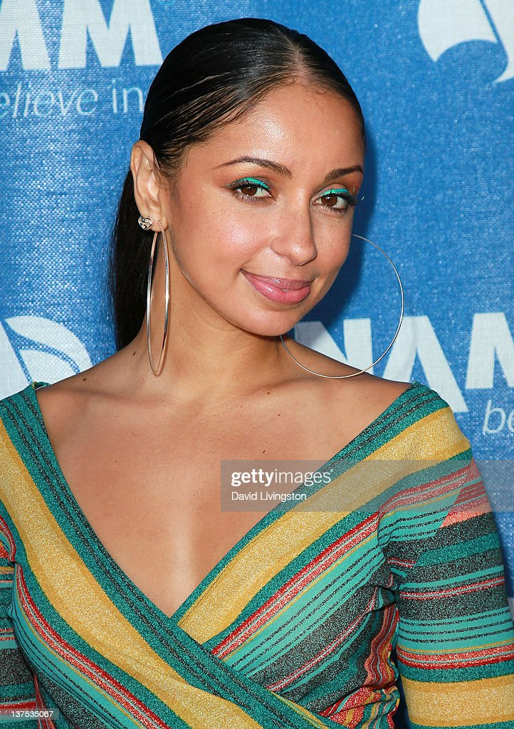 Recording artist Mya attends the 110th NAMM Show - Day 3 at the Anaheim Convention Center on January 21, 2012 in Anaheim, California.