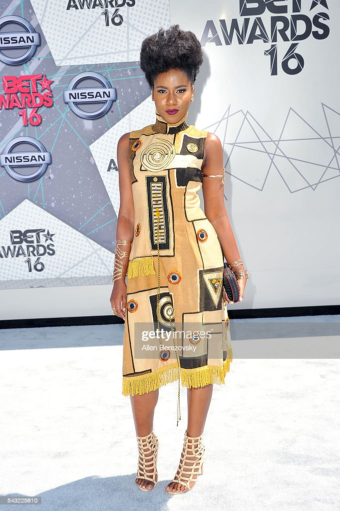 Recording artist MzVee attends the 2016 BET Awards at Microsoft Theater on June 26, 2016 in Los Angeles, California.
