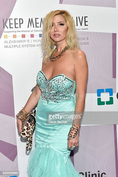Recording artist Nadeea attends Keep Memory Alive's 20th annual 'Power of Love Gala' at the MGM Grand Garden Arena on May 21 2016 in Las Vegas Nevada