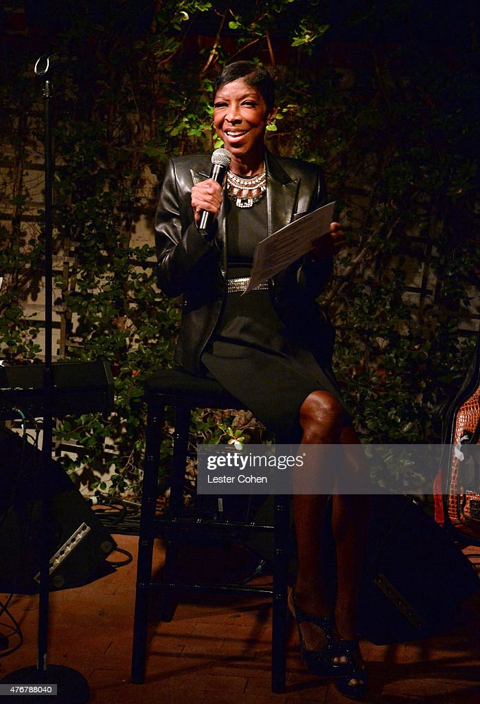 Recording artist Natalie Cole performs onstage during City Of Hope's 11th Annual 'Songs Of Hope' Event on June 11 2015 in Brentwood California