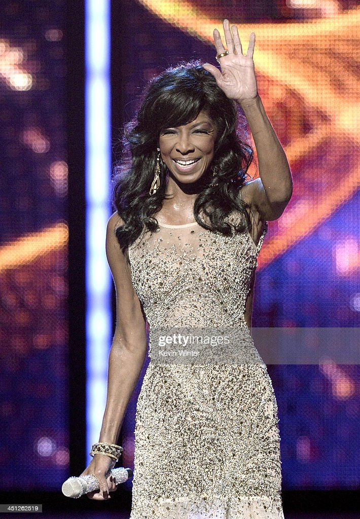 Recording artist Natalie Cole performs onstage during The 14th Annual Latin GRAMMY Awards at the Mandalay Bay Events Center on November 21 2013 in...