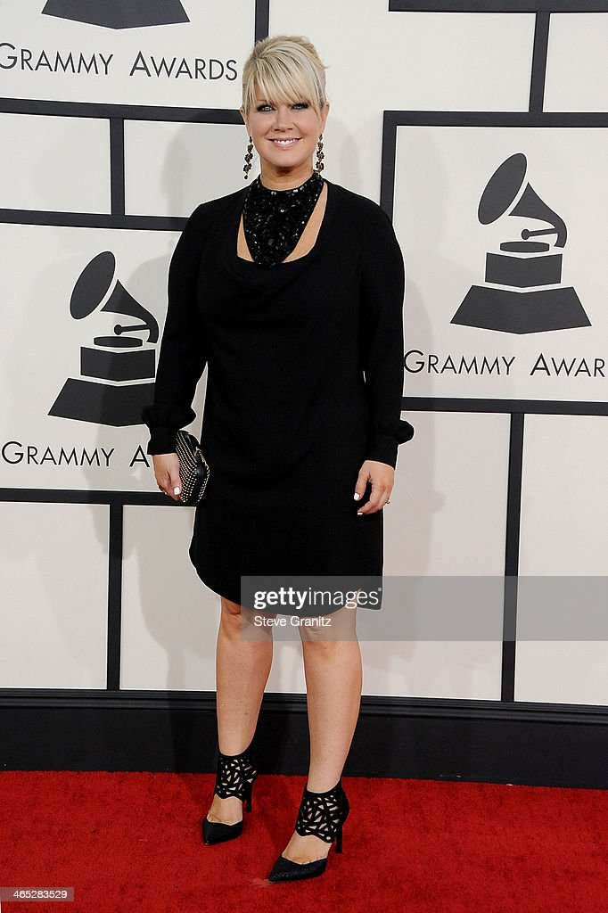 Recording artist Natalie Grant attends the 56th GRAMMY Awards at Staples Center on January 26, 2014 in Los Angeles, California.