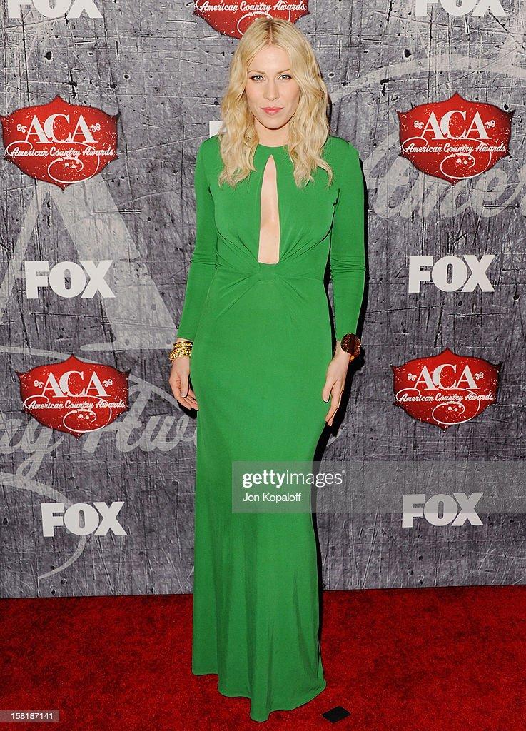 Recording artist Natasha Bedingfield arrives at the 2012 American Country Awards at Mandalay Bay on December 10, 2012 in Las Vegas, Nevada.