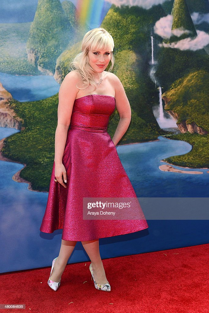 Recording artist <a gi-track='captionPersonalityLinkClicked' href=/galleries/search?phrase=Natasha+Bedingfield&family=editorial&specificpeople=171728 ng-click='$event.stopPropagation()'>Natasha Bedingfield</a> attends the premiere of DisneyToon Studios' 'The Pirate Fairy' at Walt Disney Studio Lot on March 22, 2014 in Burbank, California.