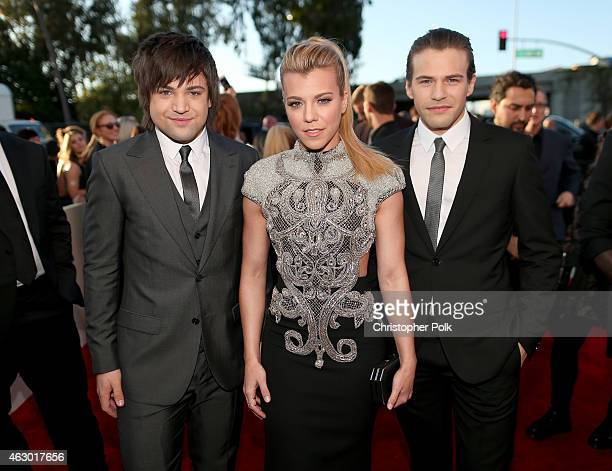 Recording artist Neil Perry Kimberly Perry and Reid Perry of The Band Perry attend The 57th Annual GRAMMY Awards at the STAPLES Center on February 8...