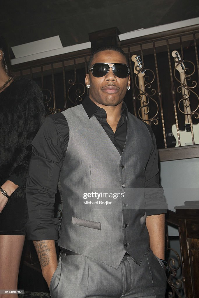 Recording Artist Nelly attends Republic Records Post Grammy Party at The Emerson Theatre on February 10, 2013 in Hollywood, California.