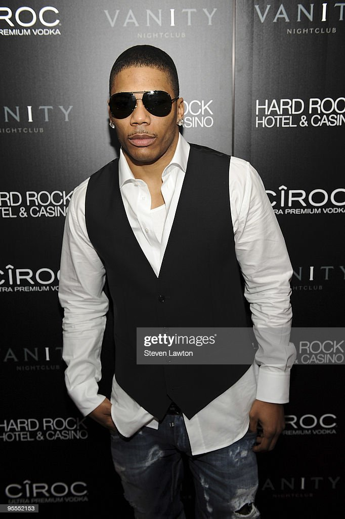 Recording artist Nelly attends the grand opening of the Vanity nightclub hosted by Sean Diddy Combs at the Hard Rock Hotel and Casino on January 2, 2010 in Las Vegas, Nevada.