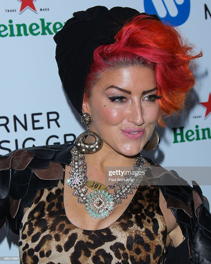 Recording Artist Neon Hitch attends the Warner Music Group annual Grammy celebration at the Sunset Towers on January 26, 2014 in West Hollywood, California.