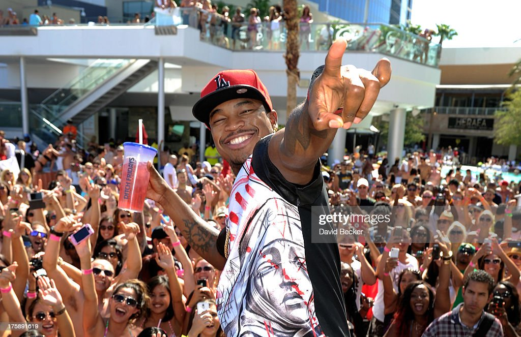 Recording artist <a gi-track='captionPersonalityLinkClicked' href=/galleries/search?phrase=Ne-Yo&family=editorial&specificpeople=451543 ng-click='$event.stopPropagation()'>Ne-Yo</a> appears at Ditch Fridays at the Palms Pool & Bungalows at The Palms Casino Resort on August 9, 2013 in Las Vegas, Nevada.