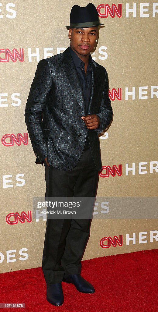 Recording artist Ne-Yo attends the CNN Heroes: An All Star Tribute at The Shrine Auditorium on December 2, 2012 in Los Angeles, California.
