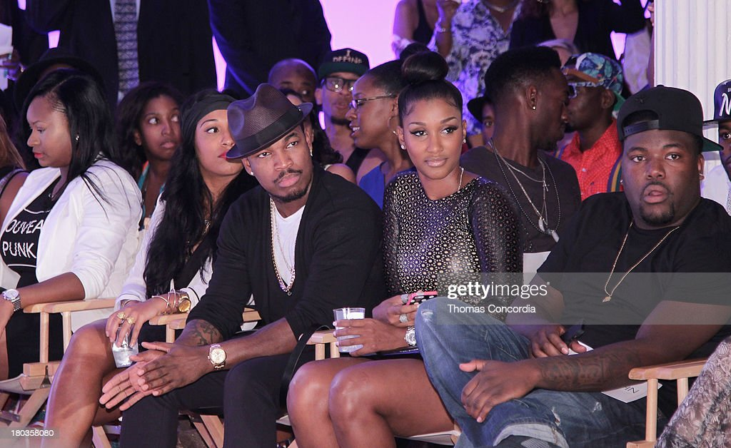Recording artist <a gi-track='captionPersonalityLinkClicked' href=/galleries/search?phrase=Ne-Yo&family=editorial&specificpeople=451543 ng-click='$event.stopPropagation()'>Ne-Yo</a> attends the FrontRow by Shateria Moragne-El at the STYLE360 Fashion Pavilion in Chelsea on September 11, 2013 in New York City.