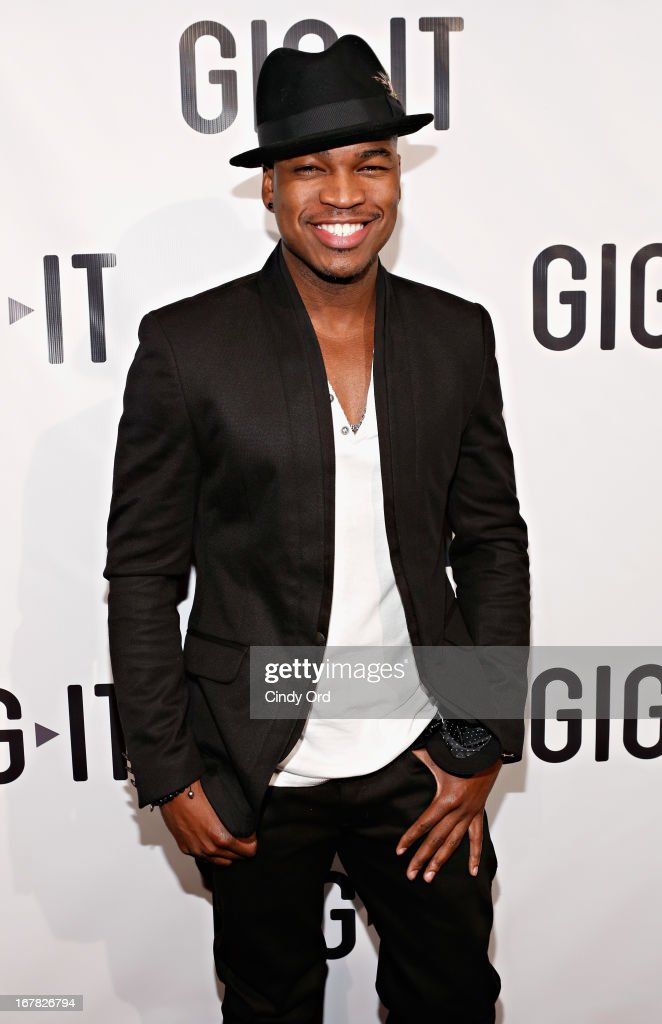 Recording artist Ne-Yo attends the Gig-It Launch Party at Capitale Bowery on April 30, 2013 in New York City.